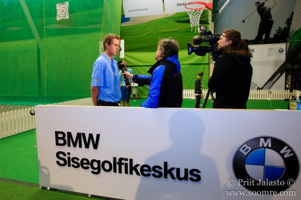 BMW sisegolfikeskuse avamine Mark ja Kaljuveer