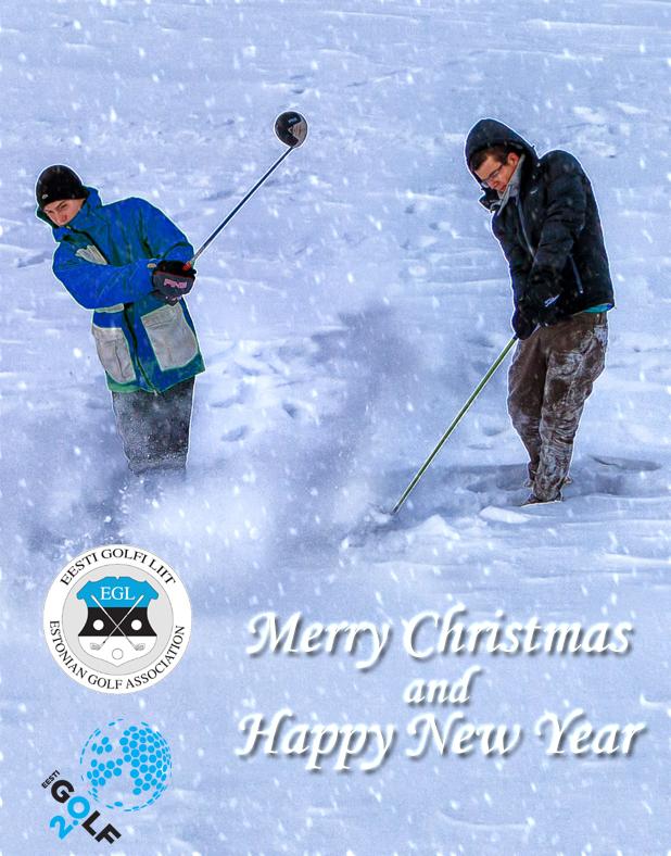 jõulutervitus Eesti Golfi Liidult